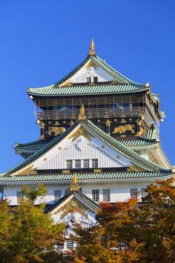 JAP0645AW Osaka Castle, Osaka, Kansai, Japan