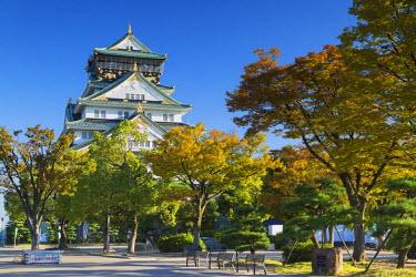 JAP0646AW Osaka Castle, Osaka, Kansai, Japan