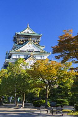 JAP0647AW Osaka Castle, Osaka, Kansai, Japan