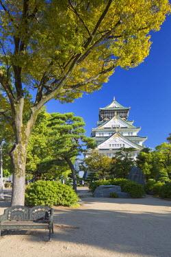 JAP0648AW Osaka Castle, Osaka, Kansai, Japan