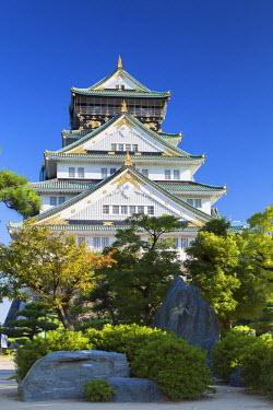 JAP0649AW Osaka Castle, Osaka, Kansai, Japan