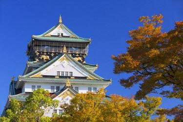 JAP0652AW Osaka Castle, Osaka, Kansai, Japan