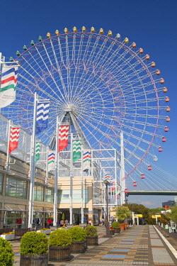 JAP0703AW Ferris wheel, Tempozan, Osaka, Kansai, Japan