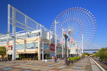 JAP0705AW Ferris wheel, Tempozan, Osaka, Kansai, Japan