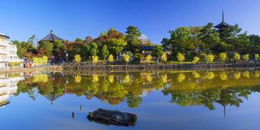 JAP0715AW Pagoda at Kofuku-ji Temple (UNESCO World Heritage Site), Nara, Kansai, Japan