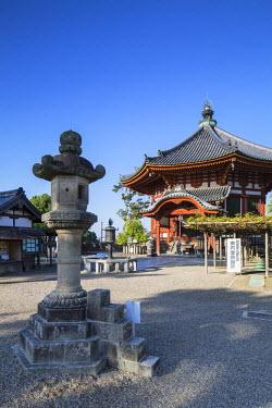 JAP0720AW Pagoda at Kofuku-ji Temple (UNESCO World Heritage Site), Nara, Kansai, Japan