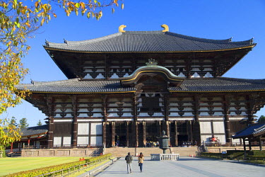 JAP0758AW Todaiji Temple (UNESCO World Heritage Site), Nara, Kansai, Japan