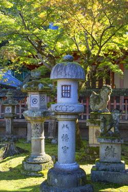 JAP0764AW Sangatsudo Hall in Nara Park, Nara, Kansai, Japan