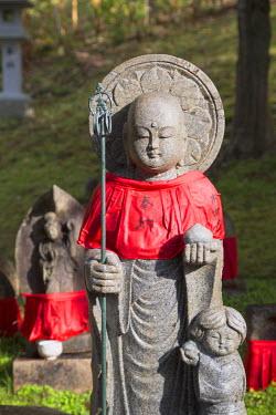 JAP0781AW Statue at Kofukuji Temple (UNESCO World Heritage Site), Nara, Kansai, Japan