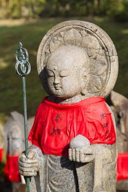 JAP0782AW Statue at Kofukuji Temple (UNESCO World Heritage Site), Nara, Kansai, Japan
