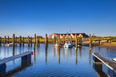 GER8284AW Marina, Steenodde, Amrum Island, Northern Frisia, Schleswig-Holstein, Germany