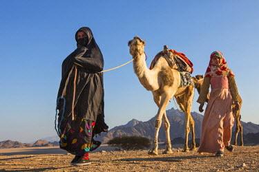 EGY1623AW North Africa, Egypt, Hurghada, Eastern Desert Mountain Range.