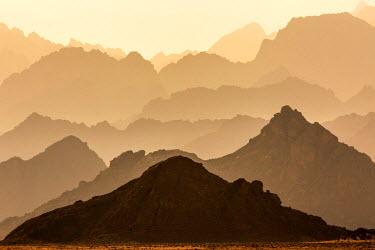 EGY1624AW North Africa, Egypt, Hurghada, Eastern Desert Mountain Range.