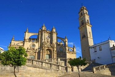 SPA6332AW Cathedral La Colegiata del Salvador in Jerez de la Frontera, Costa de la Luz, Andalusia, Spain