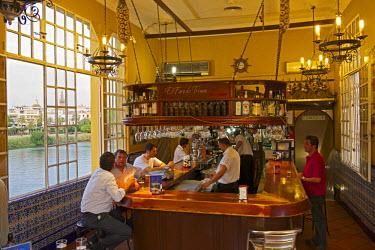 SPA6358AW Caf� El Faro de Tirana, Seville, Andalusia, Spain