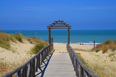 SPA6324AW Beach of Chipiona, Costa de la Luz, Andalusia, Spain