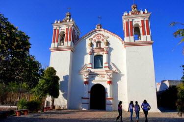 HMS0262941 Mexico, Oaxaca State, Juchitan, Parroquia de San Vicente