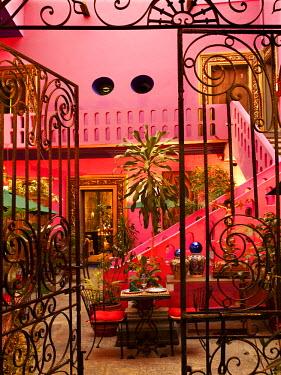 HMS0480718 Mexico, Oaxaca, Oaxaca city, la Compaoia hotel