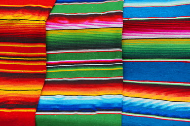 HMS0551731 Mexico, Quintana Roo State, Cancun, handicraft, mayan traditional rugs/blankets