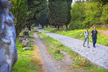 IT01825 Italy, Lazio, Rome, Ancient Appian Way - Ancient Roman road