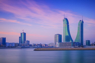UE04109 Bahrain, Manama, Bahrain Financial Harbour, Harbour Towers