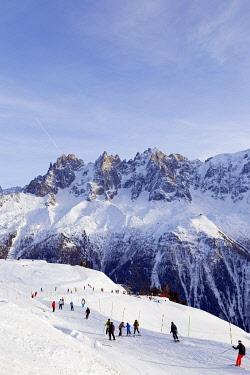 FRA8497 Europe, France, Haute Savoie, Rhone Alps, Chamonix Valley, Brevant ski area