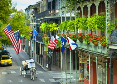 US37146 Louisiana, New Orleans, French Quarter, Royal Street