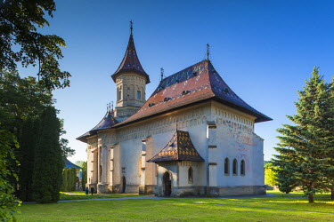 RM01508 Romania, Bucovina Region, Suceava, Orthodox Monastery of St. John the New