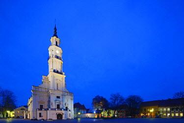 LIT1185 Europe, Baltic states, Lithuania, Kaunas, Town Hall of Kaunas