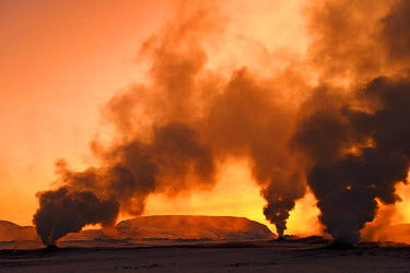 ICE3396AW Hot sulphur springs near Reykjavik, Iceland