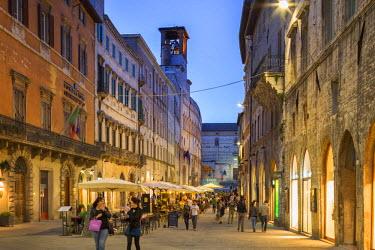 ITA4036AW Italy, Umbria, Perugia district, Perugia. Corso Vannucci.