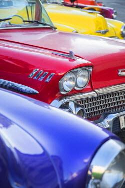 CB01644 1958 Chevrolet Impala, Parque Central, Havana, Cuba