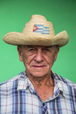 CB02330 Portrait of a man, Vinales, Pinar del Rio Province, Cuba