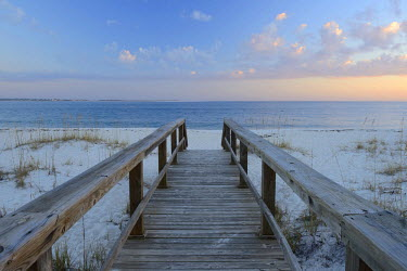 USA9635AW USA, Florida, Escambia County, Panhandle, Pensacola, beach on Fort Barrancas military base