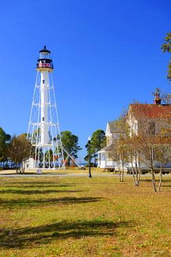 USA9638AW USA, Florida, Gulf County, Gulf of Mexico, Lighthouse, Port St.Joe, station, coast