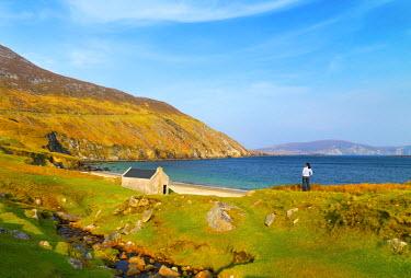IRL0265AW Ireland, Co.Mayo, Achill island, Keem bay (MR)