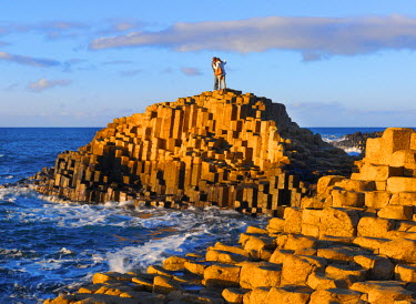 NIR8835AW Northern Ireland, County antrim, Giants causeway