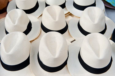 HMS0620556 Panama, Panama City, historic town listed as World Heritage by UNESCO, Casco Antiguo, the famous Panama hat