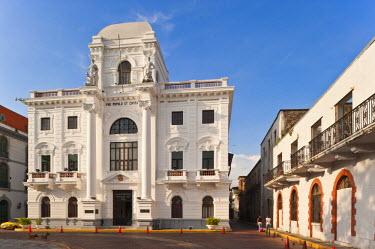 HMS0620563 Panama, Panama City, historic town listed as World Heritage by UNESCO, Casco Antiguo, Barrio San Felipe, Palacio Municipal