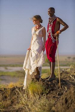 KEN9695 Kenya, Amboseli, Tortilis Camp.