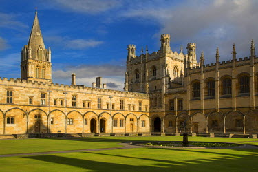EU33BJN0344 Christ Church College and Cathedral, Oxford, Oxfordshire, England