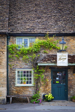 EU33BJN0469 Front of Bakery in Lacock, the Cotswolds, Wiltshire, England