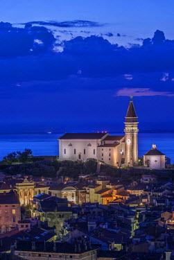 EU38RTI0032 Slovenia, Piran, Twilight City