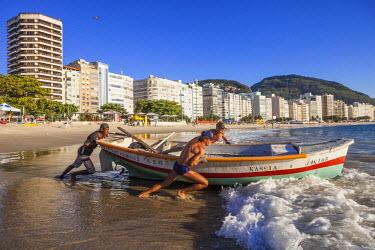 HMS1696945 Brazil, Rio do Janeiro, Copacabana
