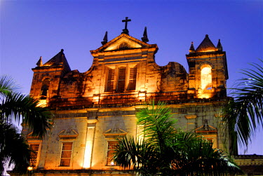 HMS0393054 Brazil, Bahia state, Salvador de Bahia, historical center listed as World Heritage by UNESCO, Pelourinho district, the Cathedral of S�
