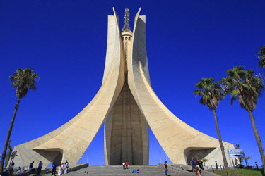 AG01003 The Monument of the Martyrs (Maquam E�chahid) (1982), Algiers, Algiers Province, Algeria