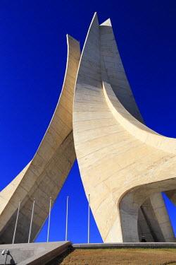 AG01005 The Monument of the Martyrs (Maquam E�chahid) (1982), Algiers, Algiers Province, Algeria