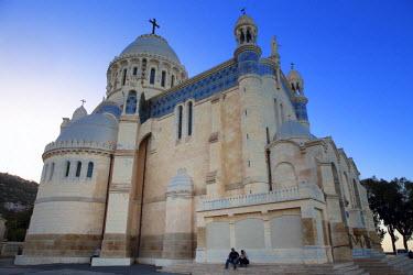 AG01011 Notre Dame d�Afrique church (1872), Algiers, Algiers Province, Algeria