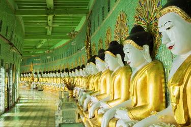 MYA1917AW Asia, Southeast Asia, Myanmar, Sagaing, Sagaing hill