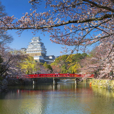 JAP0830AW Himeji Castle (UNESCO World Heritage site), Himeji, Kansai, Honshu, Japan